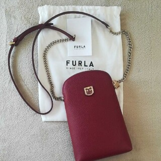 Furla - FURLA スマホ ショルダーバッグ チェーン フルラ