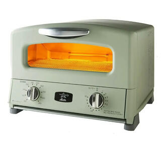 アラジン トースター グリーン 4枚焼き ALADDIN AGT-G13A(G)