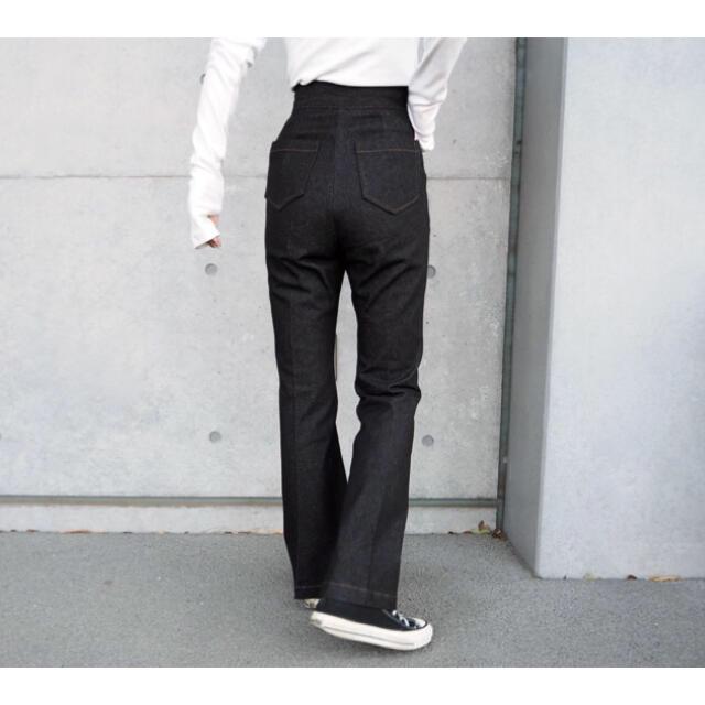 【LAULEN ローレン】HW Denim Slacks レディースのパンツ(デニム/ジーンズ)の商品写真