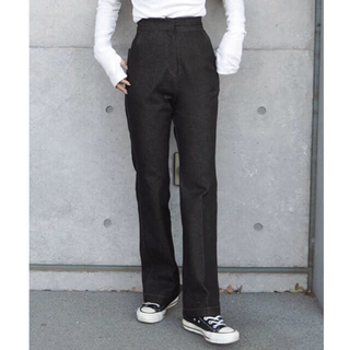 【LAULEN ローレン】HW Denim Slacks