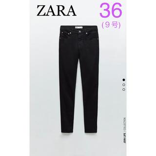 ZARA - ZARA ザラ ZW PREMIUM DEEP スキニーデニム パンツ 36 黒