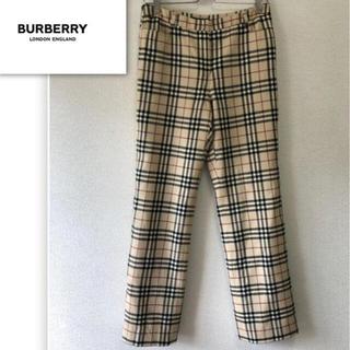 バーバリー(BURBERRY)のBurberry バーバリー チェックパンツ(スラックス)
