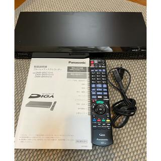 パナソニック(Panasonic)のパナソニック dmr-brw510 ジャンク品 リモコン、取説あり(ブルーレイレコーダー)