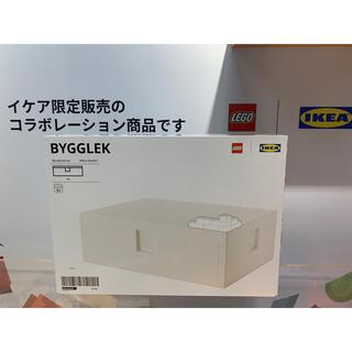 イケア(IKEA)のBYGGLEK ビッグレク レゴ®ボックス ふた付き35x26x12 cm(積み木/ブロック)