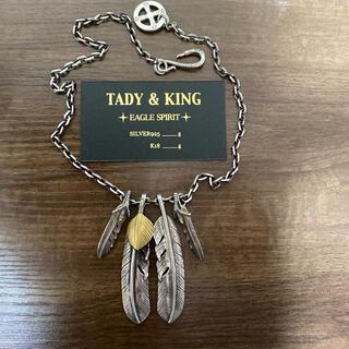 tady&king タディアンドキング タディ&キング フェザー ネックレス