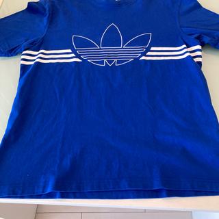 adidas - 【アディダス】青TシャツadidasのTシャツ■アディダスTシャツ■ジムなどに◎