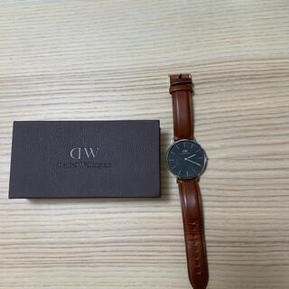 ダニエルウェリントン(Daniel Wellington)のダニエルウェリントン 腕時計 ブラック 40mm(腕時計(アナログ))