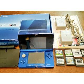 任天堂 - ニンテンドー3DS  「本体」と「ソフト8個」セット