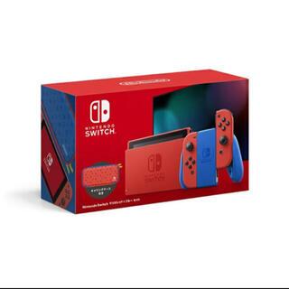 任天堂 - 【新品未使用】Nintendo Switch マリオレッド×ブルー 本体