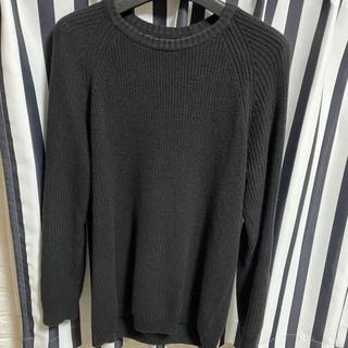ZARA - ZARA ザラ メンズ ニット セーター トップス ブラック 黒