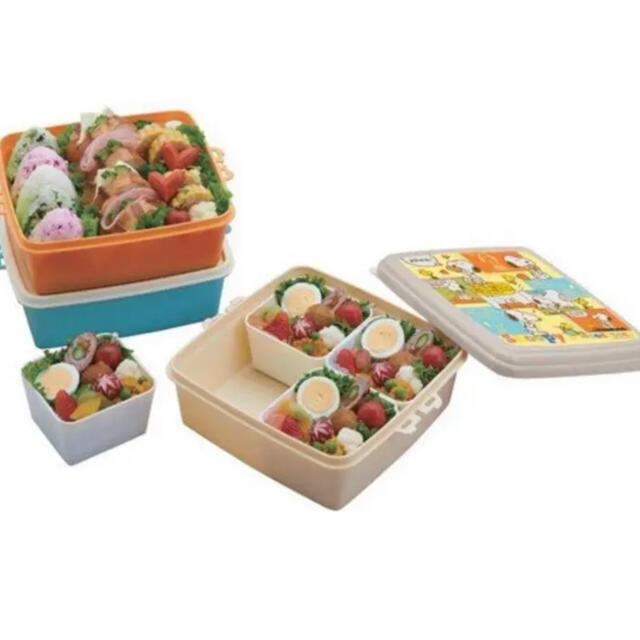SNOOPY(スヌーピー)のスヌーピー ランチボックス ピクニック SNOOPY インテリア/住まい/日用品のキッチン/食器(弁当用品)の商品写真