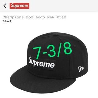 シュプリーム(Supreme)のChampions Box Logo New Era® 7-3/8(キャップ)