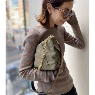 L'Appartement DEUXIEME CLASSE - GOOD GRIEF/グッドグリーフ  Canvas Cluch Bag(L)