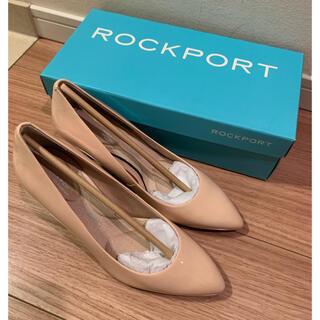 ROCKPORT - 新品未使用 ロックポート 7.5cm ベージュパンプス 22.5cm