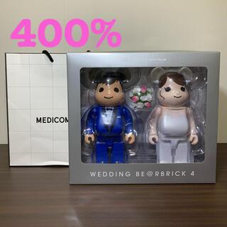 MEDICOM TOY - BE@RBRICK グリーティング 結婚 4 PLUS 400%