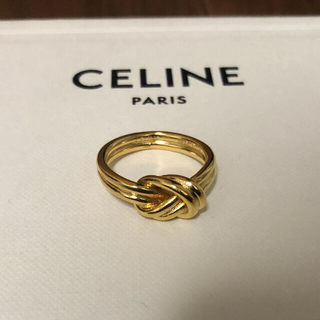 celine - セリーヌ CELINE ノットダブルリング