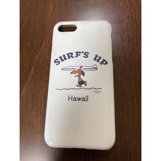 ピーナッツ(PEANUTS)の《ハワイ限定!》日焼けスヌーピー iPhoneケース(iPhoneケース)