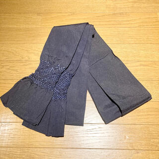 使用1回美品 男物 兵児帯(浴衣帯)