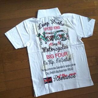 ノートン(Norton)のNorton   ポロシャツ 【白】(ポロシャツ)