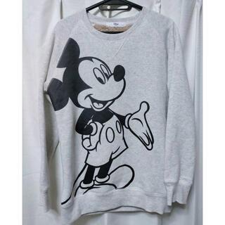 Disney - ディズニー ミッキー トレーナー Lサイズ