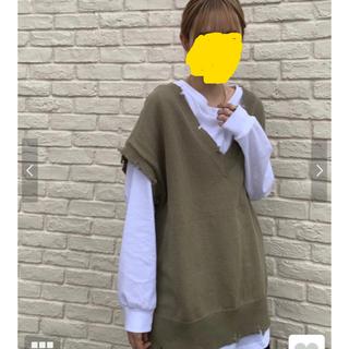 RODEO CROWNS - 新作 ロデオクラウンズ ダメージニットベスト Tシャツ