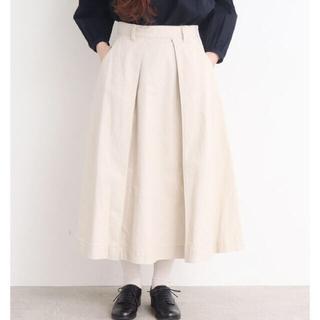 アトリエドゥサボン(l'atelier du savon)のファンシークロスAラインロングスカート*アトリエドゥサボン(ロングスカート)