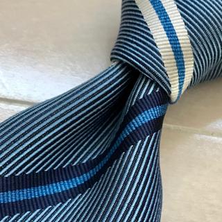 ニッキー(NICKY)の【くまごろーさま専用】ネクタイ ブルー系 レジメンタルタイ(ネクタイ)