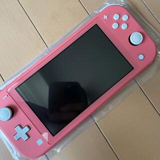 Nintendo Switch - 状態○Nintendo switch light 人気色コーラルピンク