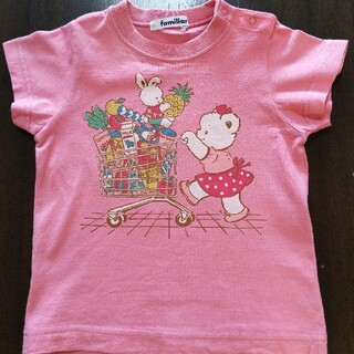 familiar - familiar 半袖Tシャツ 90センチ