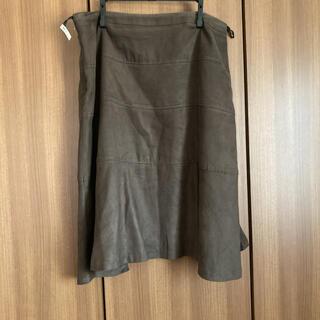 23区 - 23区 膝丈スカート 大きいサイズ