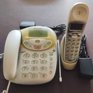 パイオニア(Pioneer)のPioneer パイオニア 留守番電話TF-JGV33 子機付(その他)