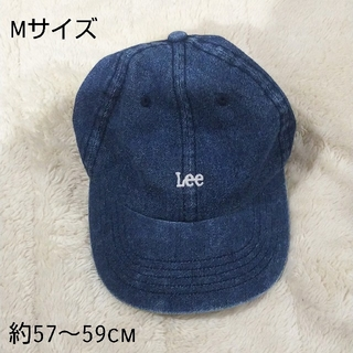 リー(Lee)のLee デニムキャップ 帽子 Mサイズ(キャップ)