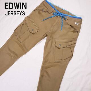 エドウィン(EDWIN)のエドウィン ジャージーズ ERKC7C カーゴパンツ ワークパンツ Lサイズ (ワークパンツ/カーゴパンツ)