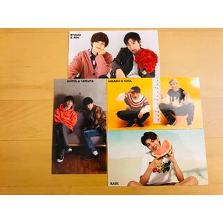 ジャニーズ(Johnny's)のSnowMan Myojo 厚紙カード 4枚セット(アイドルグッズ)