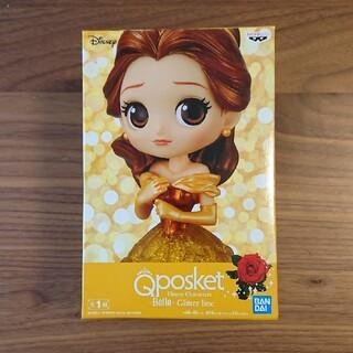 ディズニー(Disney)のQposket ベル 美女と野獣 ディズニーキャラクターズ  グリッターライン (フィギュア)
