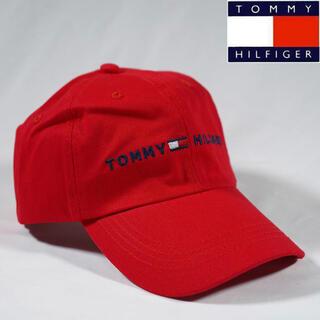 TOMMY HILFIGER - 新品 Tommy Hilfiger トミーヒルフィガー キャップ 帽子 赤