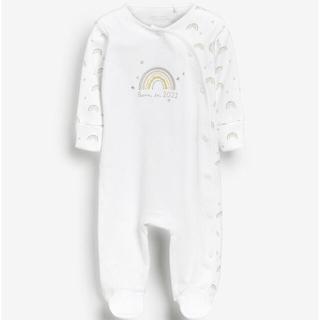 ネクスト(NEXT)の即納☆新品 Born in 2021 ロンパース 新生児サイズ(ロンパース)