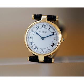 Cartier - 美品 カルティエ ヴァンドーム 18KYG ホワイト ローマン SM