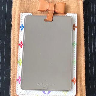 ルイヴィトン(LOUIS VUITTON)の美品 ルイヴィトン モノグラムマルチカラーエテュイミロワールコンパクトミラー(ミラー)