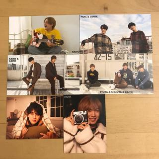 ジャニーズジュニア(ジャニーズJr.)のTravis Japan Myojo 厚紙カード 6枚セット(アイドルグッズ)