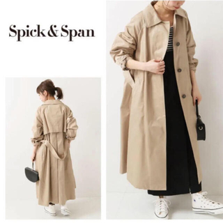 Spick and Span - スピックアンドスパン T/Cツイルロングコート 36