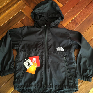 THE NORTH FACE - ノースフェイス 新品 正規店 コンパクトジャケット 黒 120サイズ キッズ