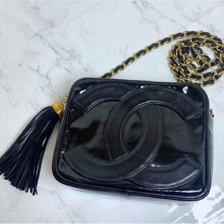 CHANEL - 激レア&美品!ヴィンテージ デカココ CC マトラッセ チェーンバッグ