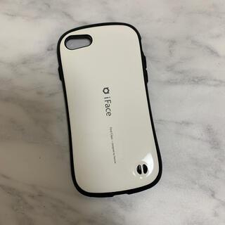 iFace iPhone8 カバー ホワイト(iPhoneケース)