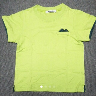 familiar - familiar ファミリア グリーン Tシャツ 100cm