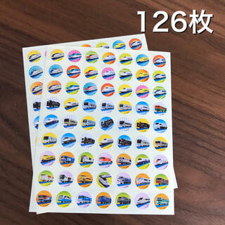 Takara Tomy - プラレール ごほうびシール ご褒美シール 126枚