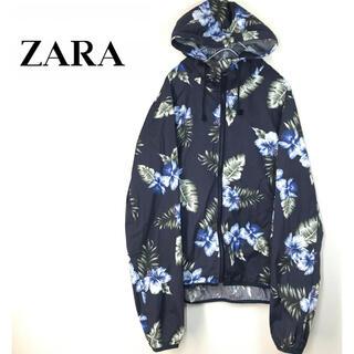 ザラ(ZARA)のZARA MAN   ナイロンジャケット 花柄(ナイロンジャケット)