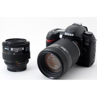 Nikon - #2474 美品♪☆初めての一眼レフカメラにおすすめ‼☆ ️Nikon D70S