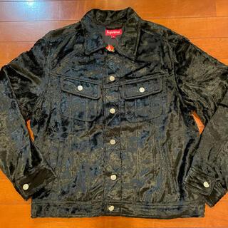 シュプリーム(Supreme)のSupreme Fuzzy pile trucker jacket(Gジャン/デニムジャケット)
