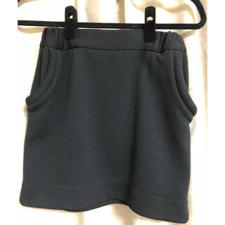 ナノユニバース(nano・universe)のナノユニバースの黒ミニスカート(ミニスカート)
